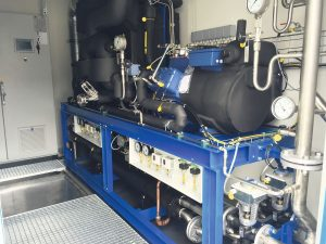 1 Eine Propen-Kälteanlage zur Temperierung von Rührwerksbehältern
