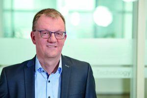 Geschäftsführer Uwe Harbauer sieht die Verkaufsgespräche voll im Plan. (Bild: Bosch)