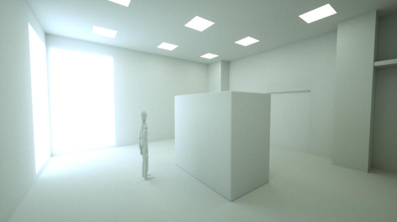 Für die Containment-Schulungen von Fette Compacting erzeugt der VR-Experte Spatialists einen virtuellen Produktionsraum mit Isolator (vorläufiges Rendering, Bildquelle: Fette Compacting GmbH).