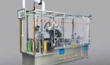 Der modulare Etikettierer LSC-100 kann vier unterschiedliche Blisterformate verarbeiten und auftragsbezogen etikettieren. (Bilder: Intrex)