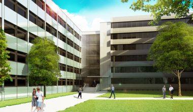 Das neue Gebäude soll die Forschungsbedingungen in Ludwigshafen weiter verbessern.