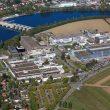 Der Standort Stein liegt an der deutschen Grenze, gegenüber von Bad Säckingen. (Bild: Novartis)