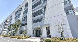 Das neue Gerresheimer-Firmengebäude am Standort Changzhou, China. (Bild: Gerresheimer)