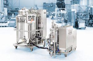 3 _Mobile YSTRAL Prozessanlage zur Herstellung von Tablettenlack