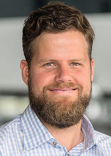 Altus Pretorius ist Projektingenieur  Automatisierung  bei Carpus+Partner