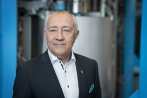Portrait des CFO von Endress+Hauser Dr. Luc Schultheiss