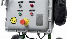 Die mobile Impellerpumpe Nirostar Atex kann in explosionsgefährdeten Umgebungen eingesetzt werden.Bild: Zuwa