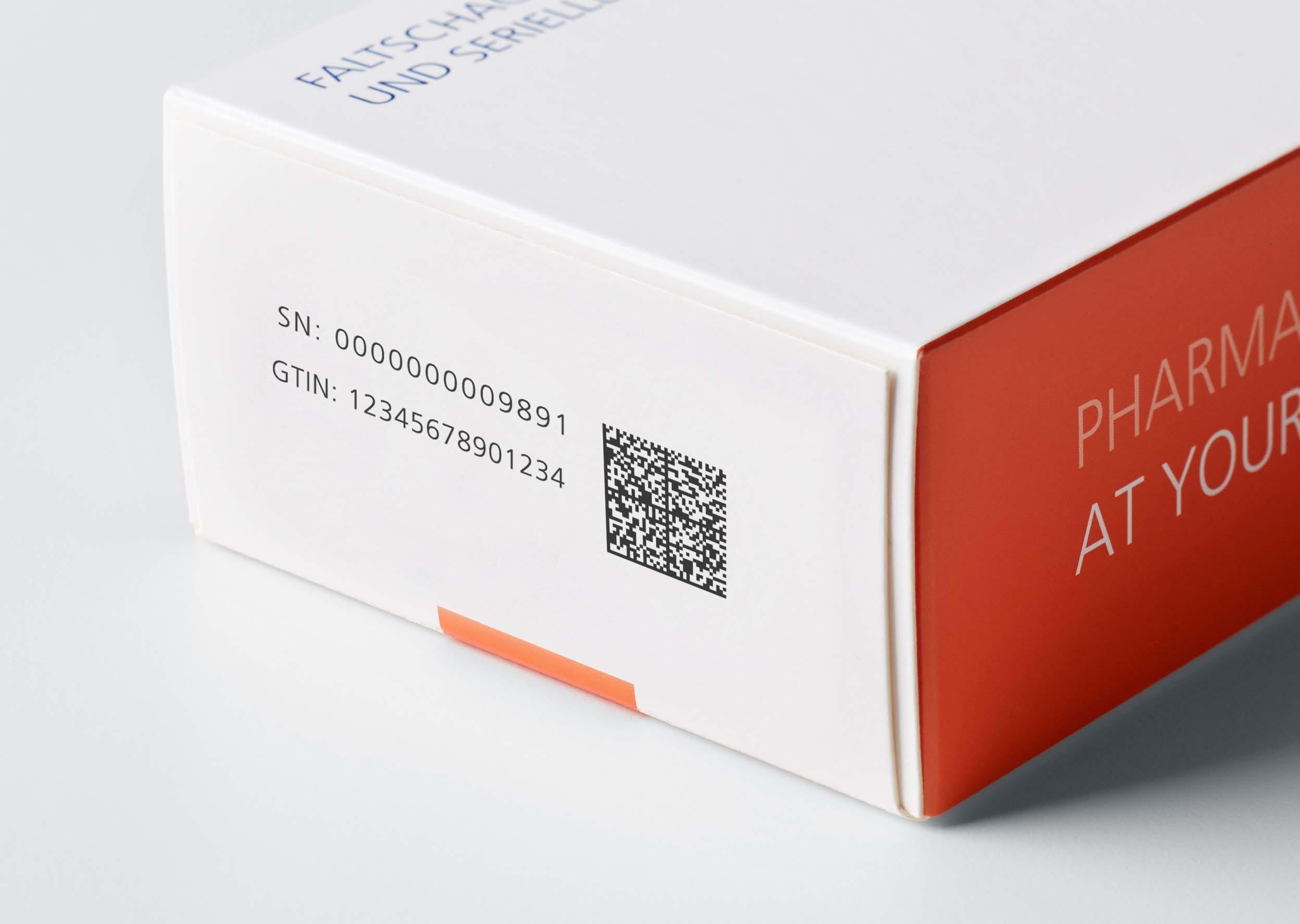 Krypto-Codes auf Pharma-Verpackungen