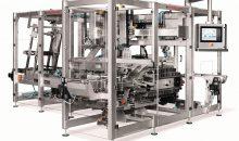 Die ETIL-Endverpackungsmaschine für Trays mit Deckel ermöglicht einen besonders präzisen und produktschonenden Verpackungsprozess. Optional können elektronische Siko-Positionsanzeigen zur überwachten Formatverstellung integriert werden. (Bilder: Rovema)