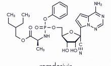 Virostatika: Zentraler Bestandteil eines Virus ist seine Erbinformation, zu deren Vermehrung eine Gruppe von Enzymen, sogenannte Polymerasen notwendig sind. Wirkstoffe, die diese Enzyme hemmen, können auch die Vermehrung und Verbreitung von Viren eindämmen. Beispiele für solche Virostatika, die auch gegen Sars-Cov-2 wirken könnten, sind die Wirkstoffe Faviparivir und Remdesivir. Letzteres wurde ursprünglich gegen das Ebola-Virus entwickelt.Bild: molekuul.be ‒ AdobeStock