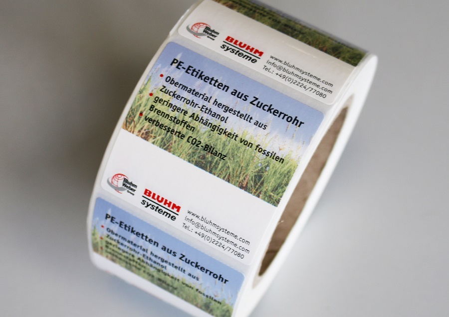 PE-Etiketten-aus-Zuckerrohr