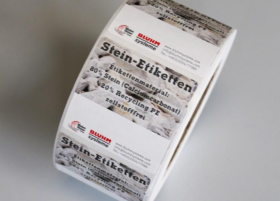 Stein-Etiketten
