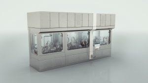 Hinter dem Flexible-Filling-Portfolio steckt ein individuell konfigurierbares, modulares Maschinenkonzept zur Verarbeitung kleiner und mittlerer Chargen flüssiger Pharmazeutika.