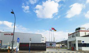 Mit der Eröffnung des Werks in Nantong zeige man