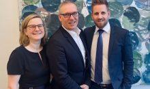 COO Grit Jedamzik, CEO André Reich und CFO Steven Reinhold bilden die Geschäftsführung von Unitax. (Bild:Unitax-Pharmalogistik)