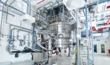 Die Wirkstoffherstellung in Deutschland soll ausgebaut werden – unter anderem hier am Standort Dossenheim. (Bild: Evonik)