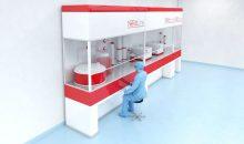 Exyte und Univercells bündeln Technologien, um vorgefertigte GMP-Produktionsanlagen für Impfstoffe bei neuen Krankheitsausbrüchen schneller zu implementieren. (Bild: Exyte / Univercells Technologies)