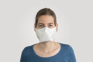 Die Schreiner Group hat für ihre Mitarbeiter eine eigene Gesichtsmaske entwickelt. (Bild Schreiner Group)