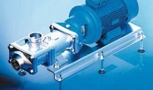 1: Die Schraubenspindelpumpe Twin Screw NG wurde jüngst von der EHEDG zertifiziert. Bild: Pumpenfabrik Wangen