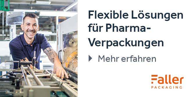 lexible Lösungen für Pharma-Verpackungen