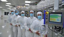 Fresenius Medical Care hat die Produktion von Dialyseflüssigkeiten am Standort St. Wendel mit einer neuen Fertigungslinie erweitert. (Bild: Fresenius Medical Care)