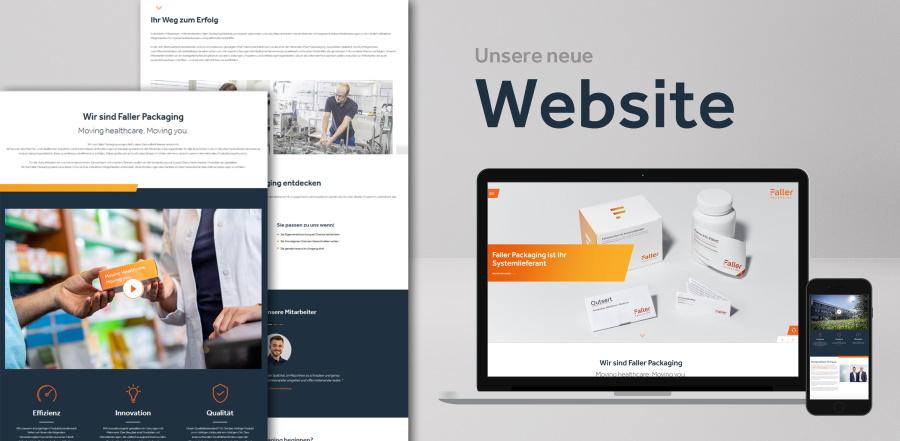Website Faller Packaging