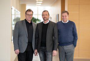 Die Geschäftsführung der neuen Schubert Business Development GmbH: Peter Gabriel, Gerald Schubert und Ralf Schubert (v. l.).