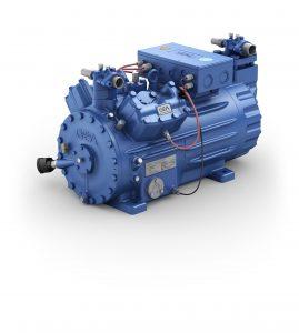 gea 2006pf001 Verdichtereffizienz Bock HGX44e CO2 industrielle Tiefkühlanwendungen