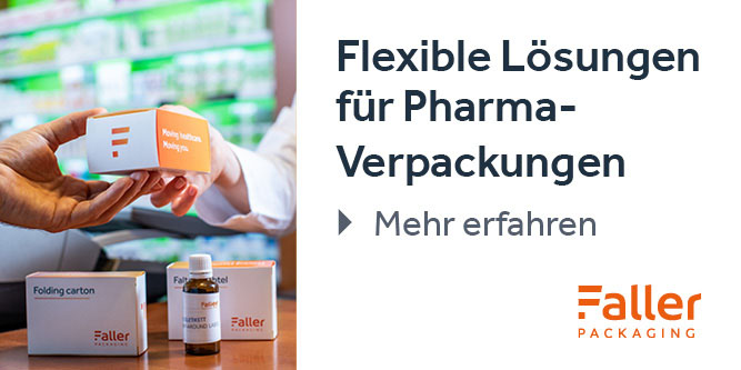 flexible Lösungen für Pharma-Verpackungen