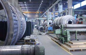 Blick in die Produktionshalle des Lödige-Stammwerks in Paderborn: Hier wird bis 2021 einer der größten Einzelaufträge der Firmengeschichte realisiert. (Bild: Lödige)