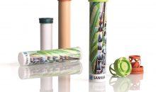 2020 hat das Unternehmen eine Brausetabletten-Verpackung im Markt eingeführt, die sich aus biobasiertem Material zusammensetzt. (Bild: Sanner)