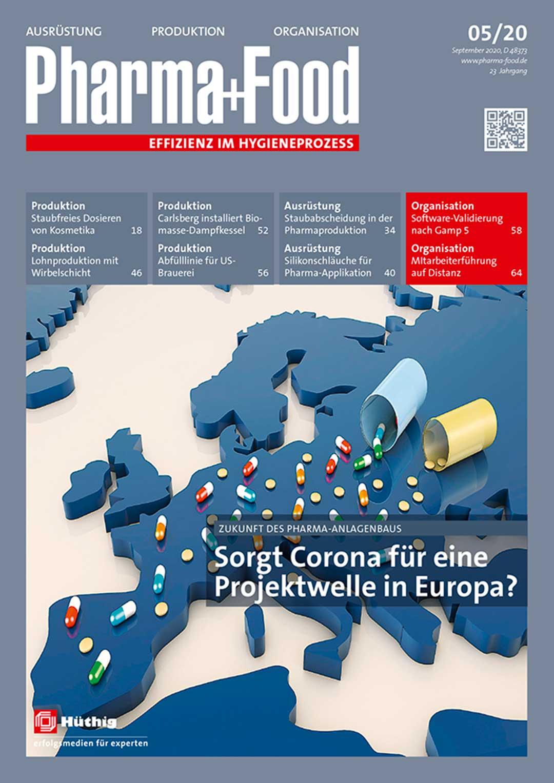 Pharma+Food Cover