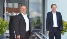 Das neue Führungsduo in Wohlen, Schweiz: links Marco Samà, rechts Dr. Uwe Bräuning. (Bild: Wilco)