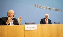 BSI-Präsident Schönbohm und Innenminister Seehofer haben den Lagebericht am 20. Oktober in Berlin vorgestellt. Bild: BSI