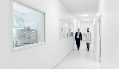 Das Processlab von Diosna bietet auf 300 m² verschiedene Anlagenoptionen Möglichkeiten der experimentellen Umsetzung. (Bild: Diosna)