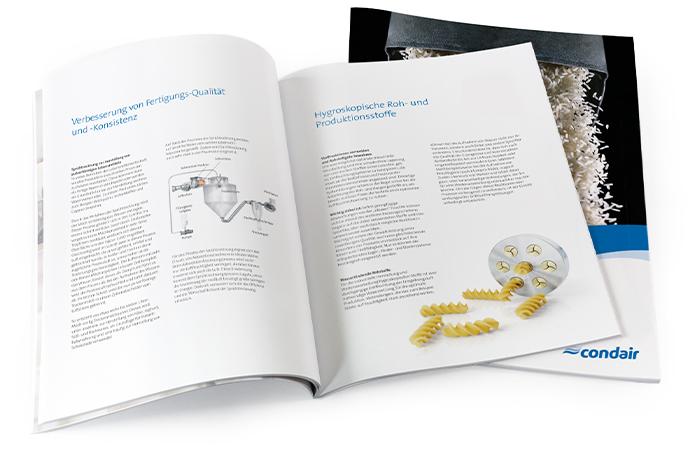 Broschüre Luftentfeuchtung in der Lebensmittelindustrie