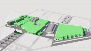 Grünbeck investiert mehr als 80 Mio. Euro in erweiterungen am Firmenstandort Höchstädt. (Bild: Grünbeck)